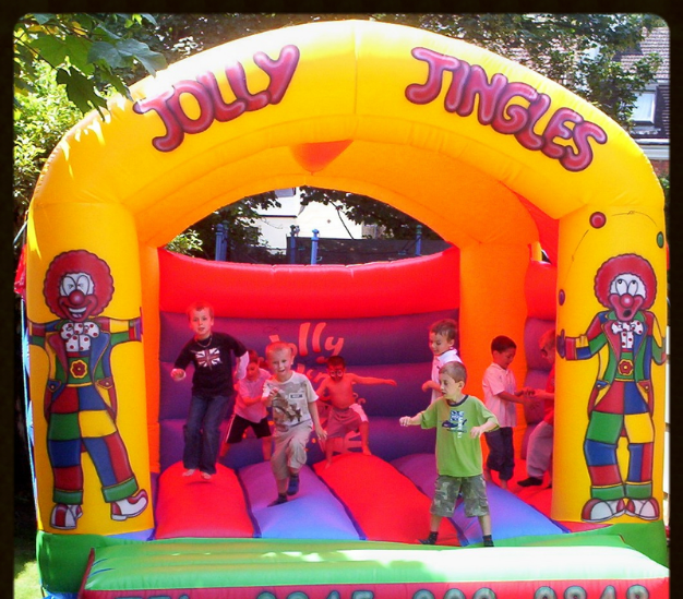 Jolly Jingles childrens bouncy castle 12 x 15 feet